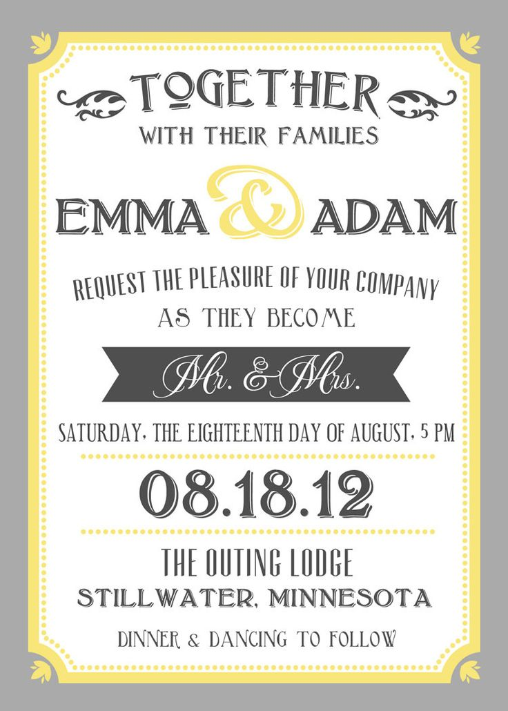 56 best He Put a Ring On It - Invitations images on Pinterest ...