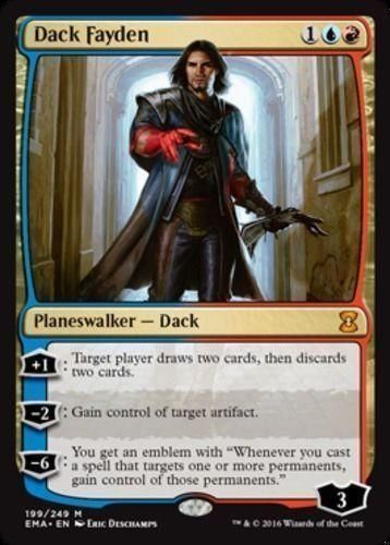 Dack Fayden x1 Eternal Masters, Magic the Gathering Mythic NM MTG