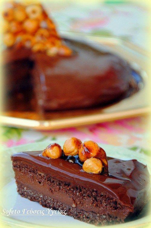 τούρτα με πραλίνα φουντουκιού 2