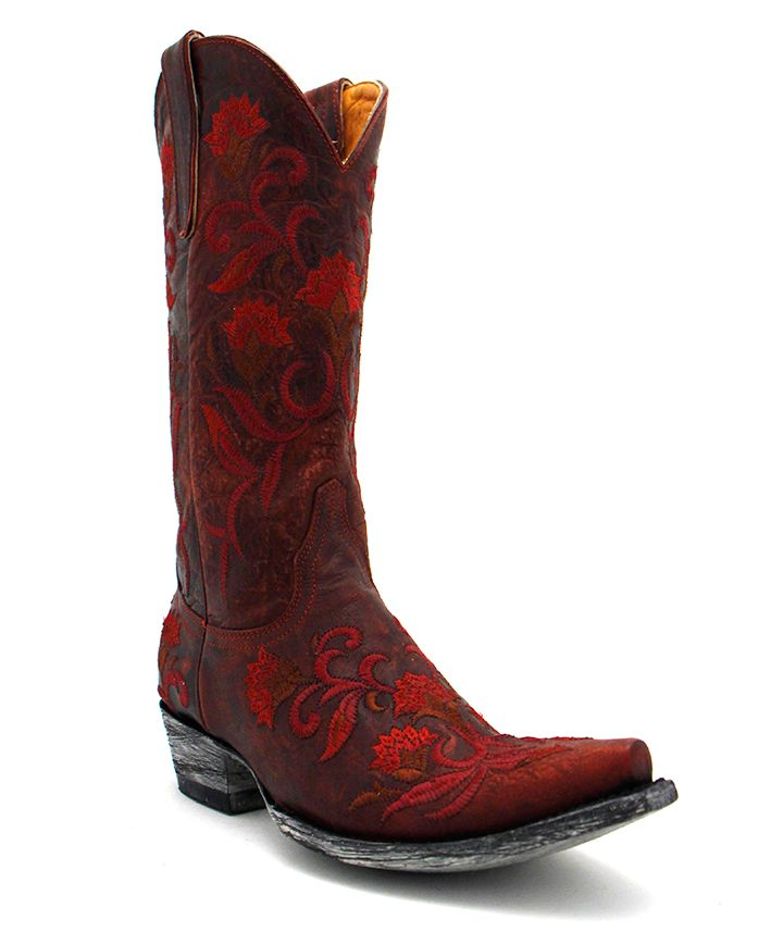 Old Gringo Naomi Boot in Red at Maverick Western Wear