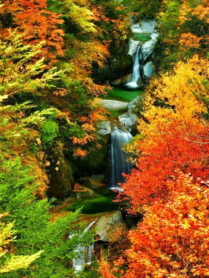Jinja Falls, Yamanashi, Japan