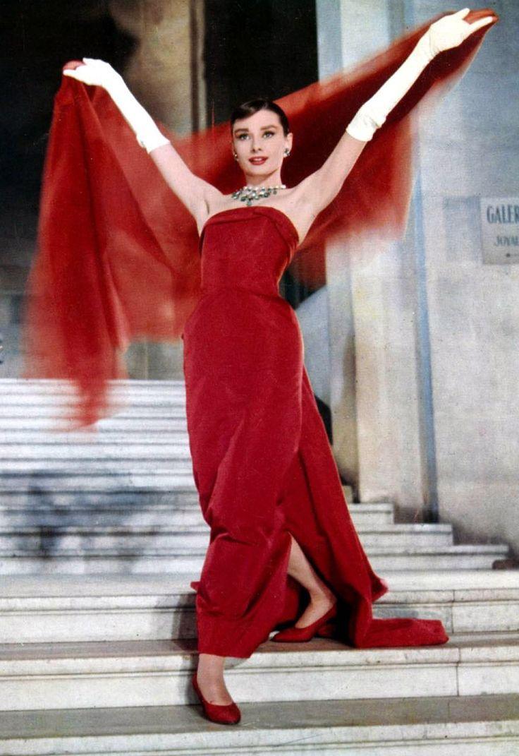 For the Cinema, Givenchy Habillera Audrey Hepburn in Sabrina, DROLE DE FRIMOUSSE, Diamonds on sofa, Charade …