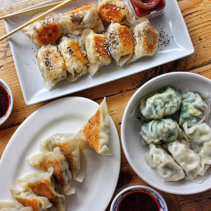"""4,889 Likes, 77 Comments - Sarah Phillips (@food) on Instagram: """"Perfect dumplings from @mimichengs taken by @indulgenteats via @beautifulcuisines. Check out our…"""""""