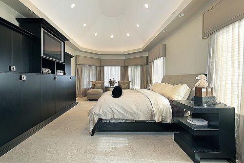 : Luxury Master Bedrooms, Classy Bedrooms, Luxury House, Luxury Bedrooms, Dream Bedrooms, Bedrooms Interiors, Extra Rooms, Black Furniture, Modern Bedrooms