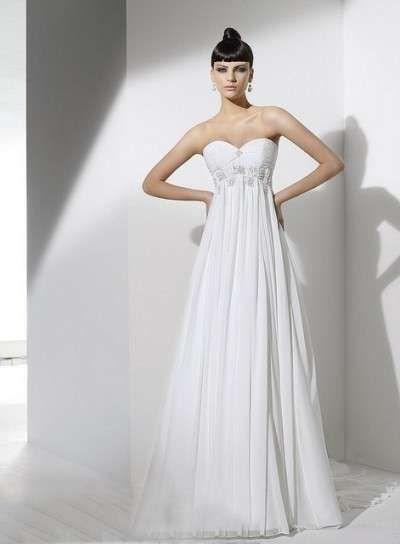vestidos de novia de corte imperio: fotos de los mejores modelos (13