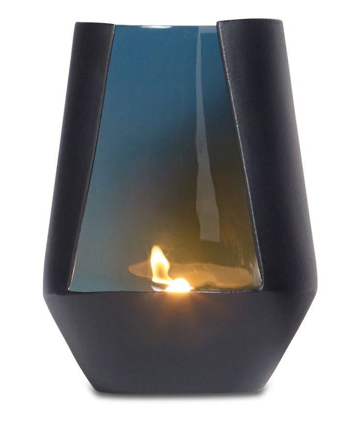 Regalos que encantan: Candelabro para Vela Life - Cristal Azul BoConcept en Dekosas.