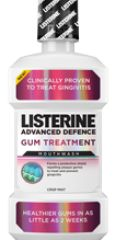LISTERINE® Advanced Defence Gum Treatment