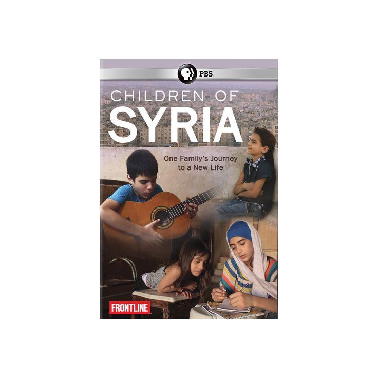 Frontline:Children of syria season 34 (Dvd)