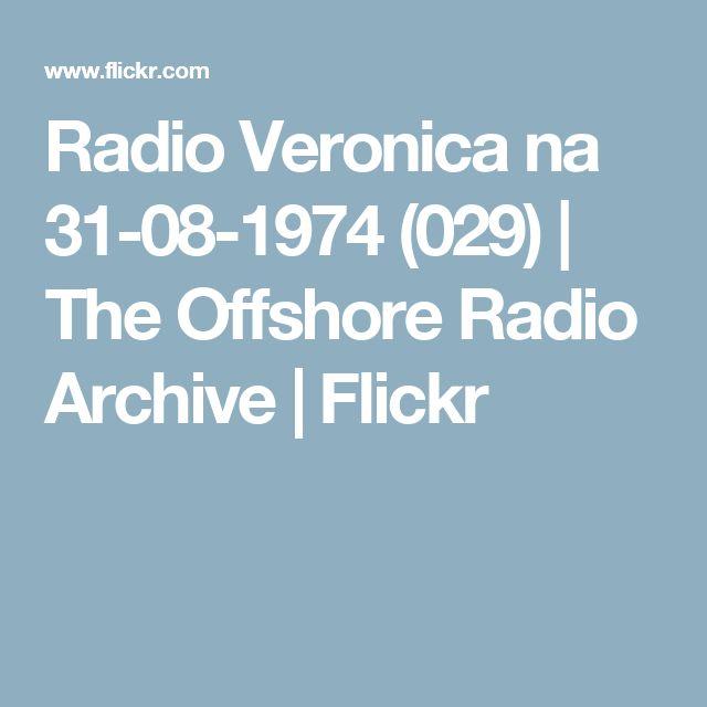 Radio Veronica na 31-08-1974 (029)   The Offshore Radio Archive   Flickr
