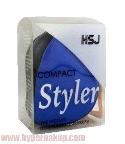 Kompaktná kefa pre dokonalé rozčesanie vlasov vhodná do domácnosti, kabelky alebo na cestovanie. Kefa sa skladá z dvoch častí - vrhcného krytu a a samotnej kefy. Moderný dizajn - ideálne do kabelky a na cesty.Špecifikácie:material : PVC rôzne farby rozmery: 9x5x7 cm Kefa na vlasy Compact Styler | PREDAJ | HYPERNAKUP.COM