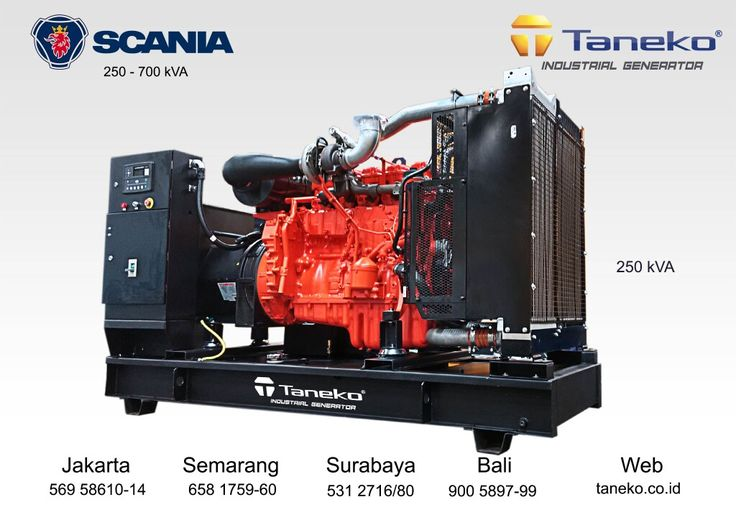 High performance engine, more durability, compact design with modular concept, low fuel consumption & easy maintenance. You can find it at Scania engine. At frame : Scania DC09 072A 02-11 coupled with Stamford alternator 250 kva & Deep Sea 7320 Controller http://egardeningtools.com/product-category/generators/