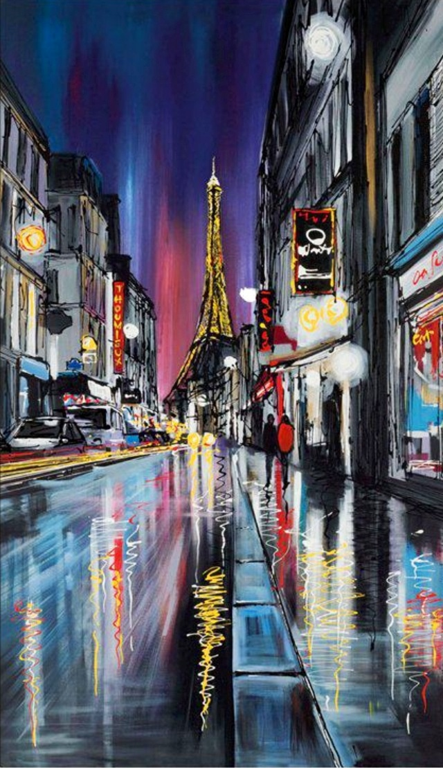 Paris ~ Paul Kenton just saw these in a gallery in Glasgow. Incredible!