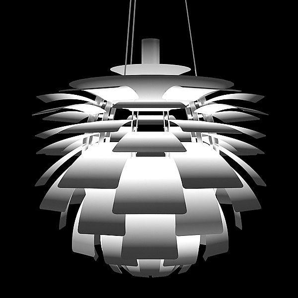 Чудес Тысяч Листьев Артишока Лампы Подвесной Светильник Белый/Серебро/Красный Лампа PH Творческий Дом Стиль Дизайн для Жизни номер PH-41