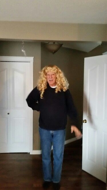 Silly gramps  Haha