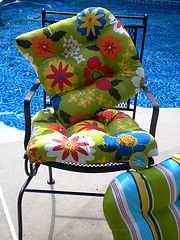A New Set Of Cushions Can Make Any Tired Looking Outdoor Furniture Look  Like New.