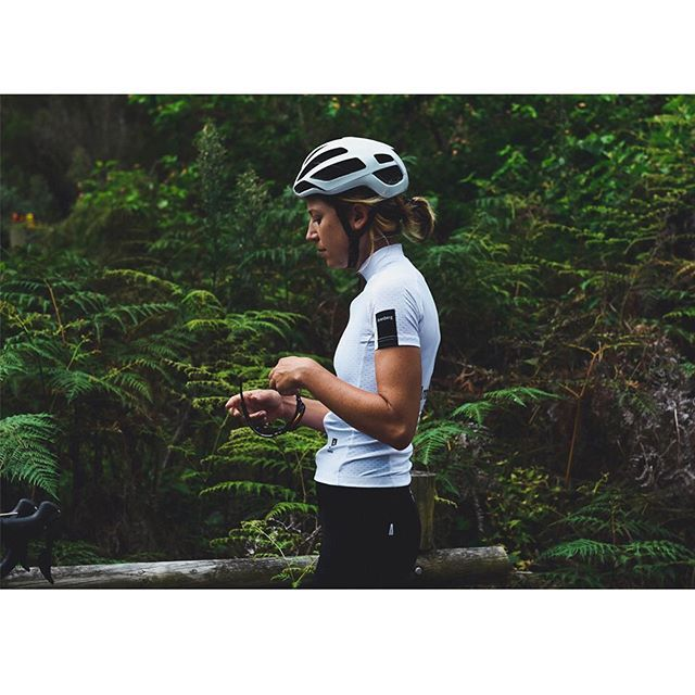 Womens MNML White kit. Available next week. Featuring female specific garment cuts and womens 3D endurance chamois. Form + Function defined. Available next week.