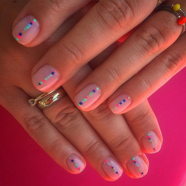 The negative space nail trend is one of our favorites of the year. #nails #manic…