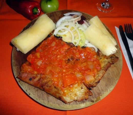 SOBREBARRIGA A LA CRIOLLA, como preparar esta receta típica de la gastronomía de Cartagena de Indias.  www.cartagenadeindiaslive.com