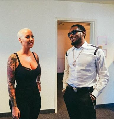 D'banj Hangs Out With Amber Rose And Saint Laurent Don In Los Angeles(Photos)