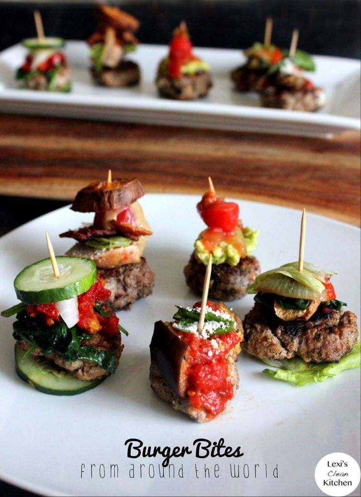 Paleo burger bites 5 ways recipe cheese cooking for Different ways to make hamburger meat
