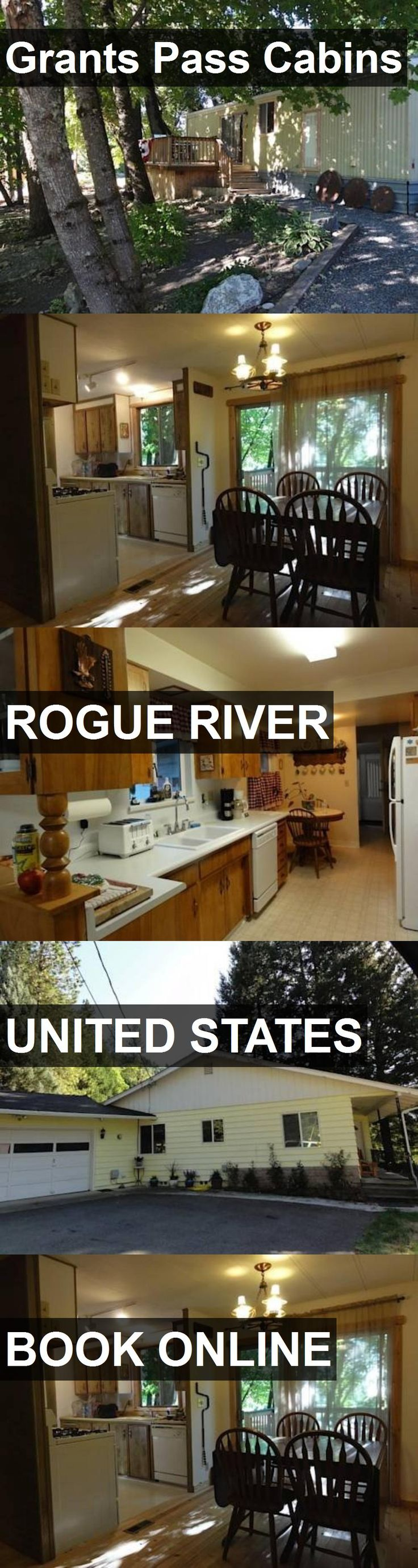 Hotel Grants Pass Cabins in Rogue River, United States. For more information, photos, reviews and best prices please follow the link. #UnitedStates #RogueRiver #GrantsPassCabins #hotel #travel #vacation