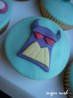 Zurg Cupcakes