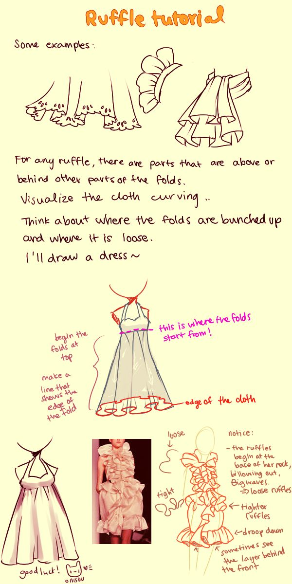 Ruffle Tutorial by onisuu