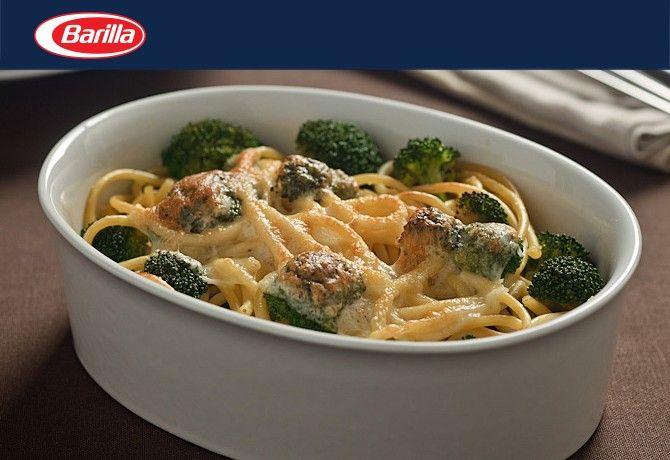 Sajtos és brokkolis spagetti | NOSALTY – receptek képekkel