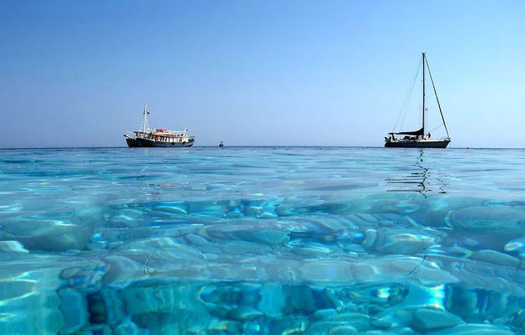 Esperides Beach at Skiathos, Greece