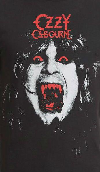 Ozzy Osbourne Vintage T-Shirt https://www.facebook.com/FromTheWaybackMachine