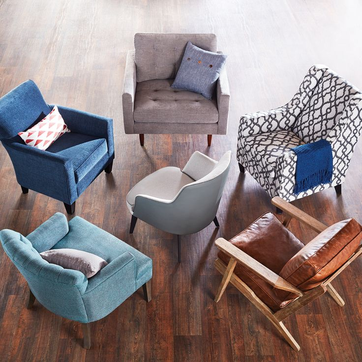 Take a seat - or 3. We've got new armchairs for the Spring collection!