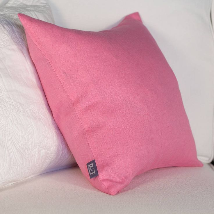 http://www.notonthehighstreet.com/jodiebyrne/product/bright-pink-linen-cushion-cover