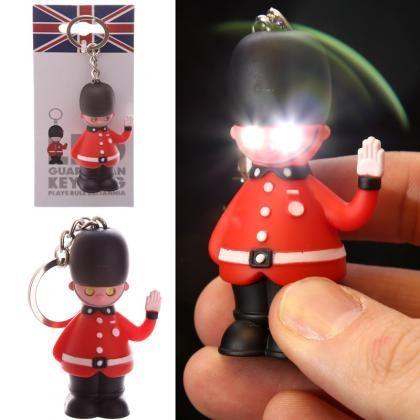 Portachiavi con Guardia Reale con LED 3,2€