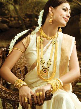 A bride of Kerala.