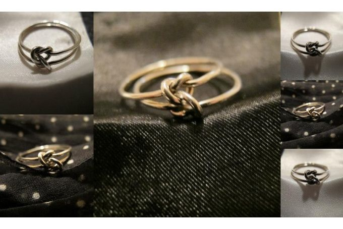 Double Knot Ring  by Elisabeth-Rose on hellopretty.co.za
