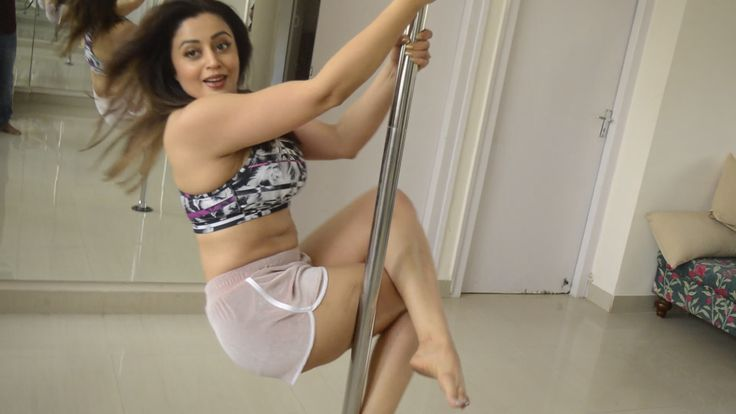 Check out Neha Pendse's 'Pole' dance.Check out Neha Pendse's 'Pole' dance