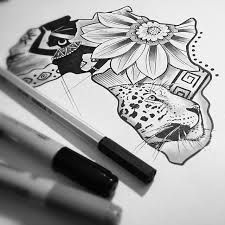 Image result for africa tattoos