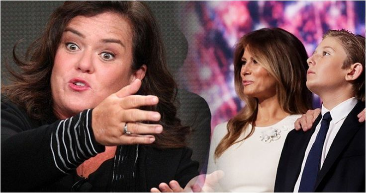 Rosie Gets Into Catfight Over Barron, Liberals Side With Melania After O'Donnell Goes Nuts