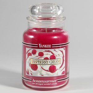Raspberry cream - Yankee Candle #YankeeCandle #MyRelaxingRituals