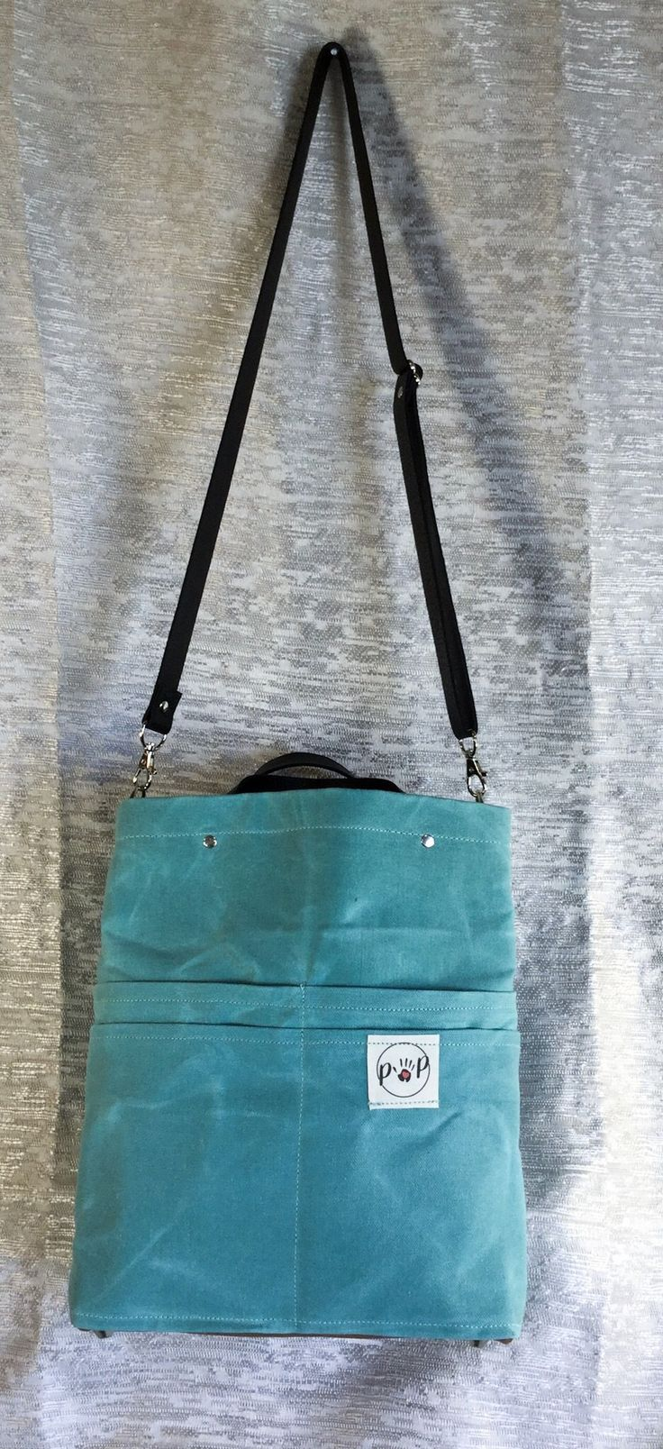 Light Teal Purse Of Pockets