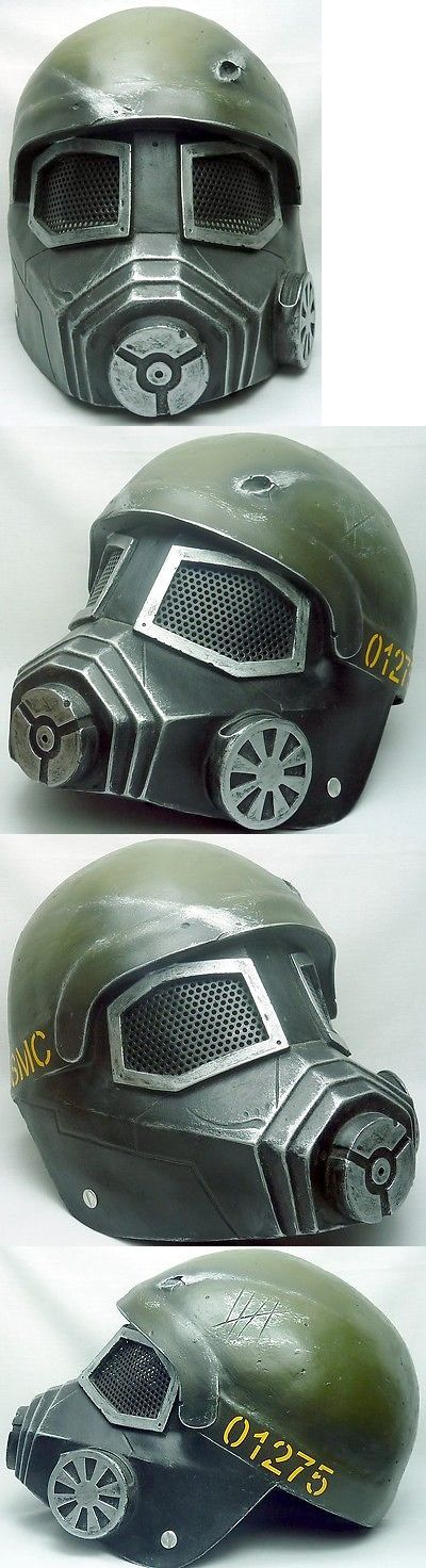 Goggles and Masks 16050: Army Of Two Fallout Gunner Custom Fiberglass Paintball Airsoft Helmet - Mask -> BUY IT NOW ONLY: $159.95 on eBay!