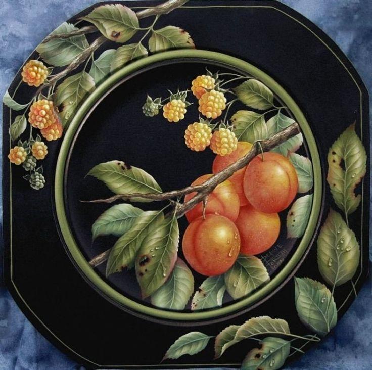 DEANNE FORTNAM - декоративная живопись, цветочные мотивы.. Обсуждение на LiveInternet - Российский Сервис Онлайн-Дневников