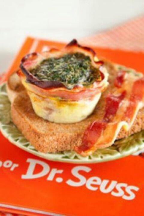 Green eggs and ham..Paula Dean....So cute for kids breakfast #future