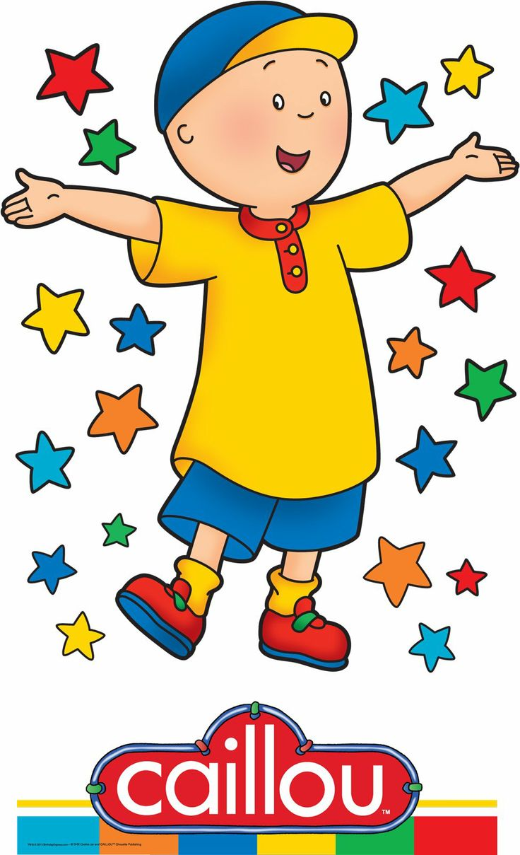Caillou Standup, 92024