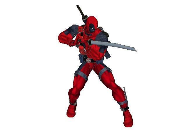 Marvel Comics - Deadpool Free Papercraft Download - http://www.papercraftsquare.com/marvel-comics-deadpool-free-papercraft-download.html#Deadpool, #MarvelComics, #WadeWilson