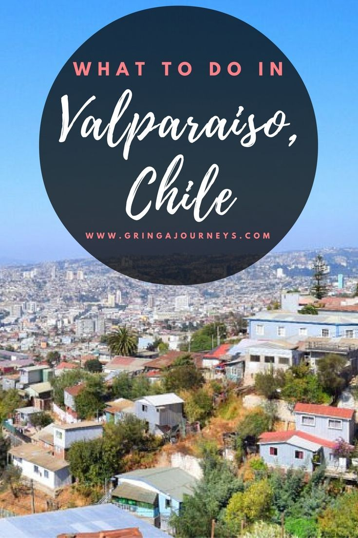 This guide of the colorful city of Valparaíso, Chile features all of the must-see spots in the city as well as a map so you don't get lost on your way.