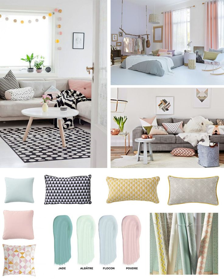 1000 ideas about ambiance scandinave on pinterest r novation appartement flats and ambiance for Chambre scandinave pastel