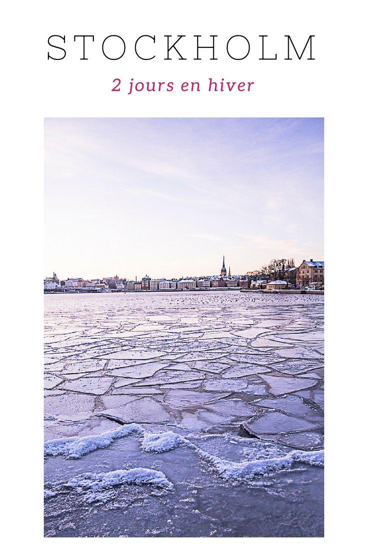 Visiter stockholm en hiver, que faire ? Quelques idées pour 2 jours dans la capitale suédoise
