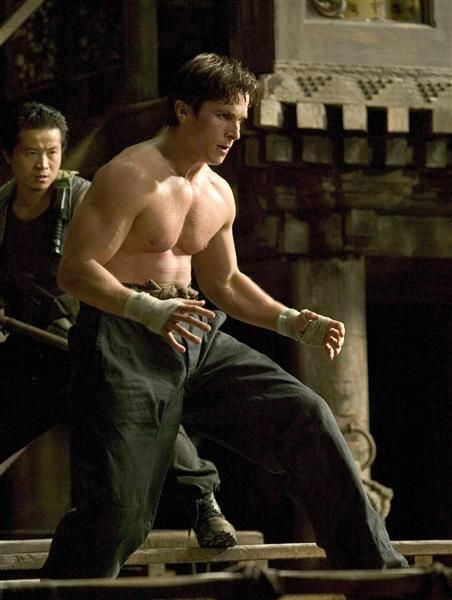 "Christian Bale pumped up for five months to inhabit Gotham's Dark Knight in ""Batman Begins."" Coming off his hollow-cheeked turn in ""The Machinist,"" he weighed just 121 pounds. By the time he slipped on the Batsuit, he was 220 pounds of pure muscle."