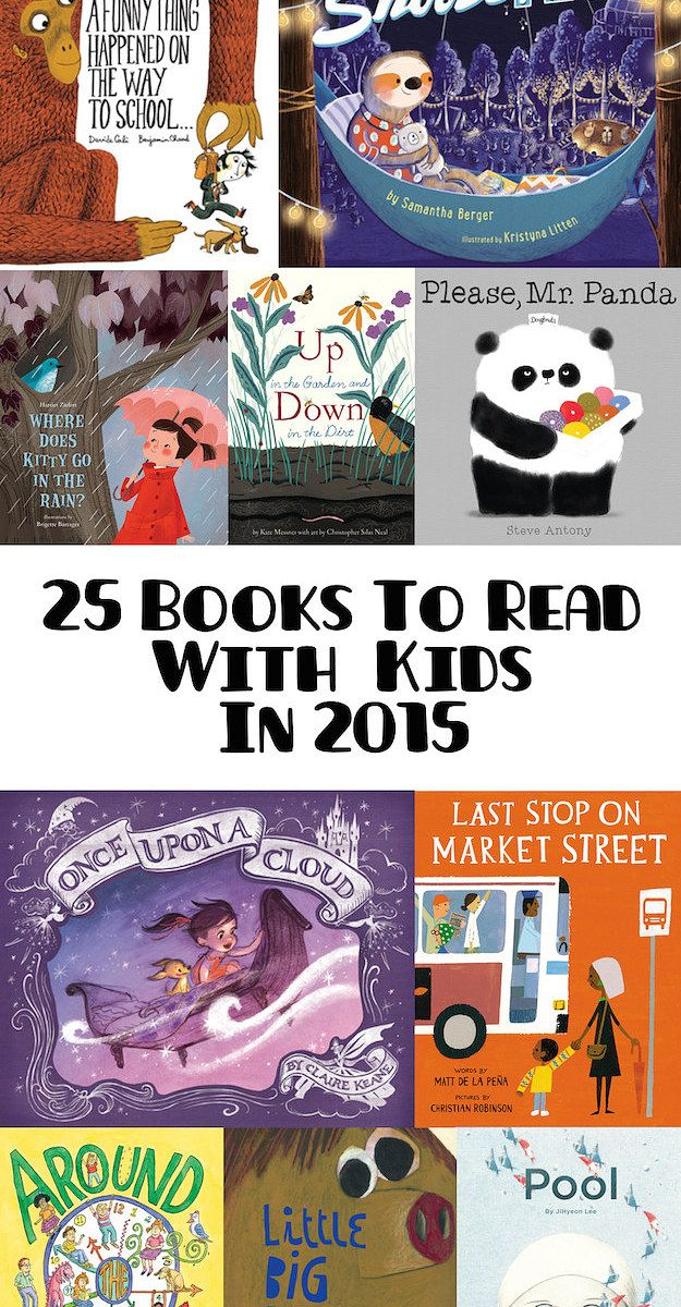 25 Absurdly Delightful Books To Read With Kids In 2015